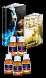 AFB1112-15-EOP-203 Go Quantum Book & Essential Oil Package